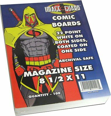 Magazine Storage Backing Boards x 100 pack