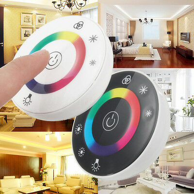 Wireless Touch Panel RF Remote 18A Controller Dimmer fr 5050 RGB LED Strip Light