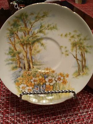 Shelley bone china. Saucer only. Daffodil Time. 13370