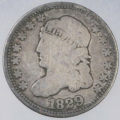1829 Capped Bust Half Dime G +