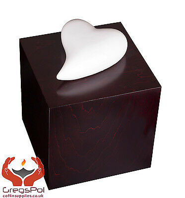 Unique Artistic Urn Heart of Remembrance Cremation Urn for Ashes - Adult Urn