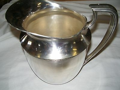 Vintage nickel silver water pitcher