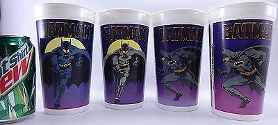 Batman Taco Bell 32 Oz 1989 Pepsi Cup Bat Man Dc Comics Batwing Dark Night Mug X