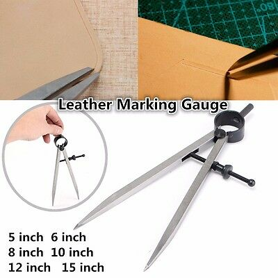 Craft Sha Leather Craft Rotating Tools Creaser Edge Wing Divider Compasses