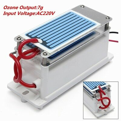 Ozone Generator Double Ceramic Plate Integrated Sterilizer Air Ozonizer Purifier