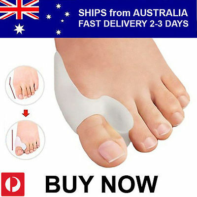Silicon Gel Bunion Protector Toe Straightener Separator Alignment Pain Relief