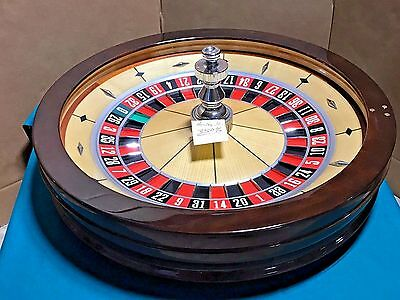 32 Inch Roulette Wheel (Used) #3504>> Single 0