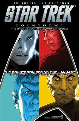 Star Trek Graphic Novel Collection - Issue 1 Countdown Sealed pk - NEW