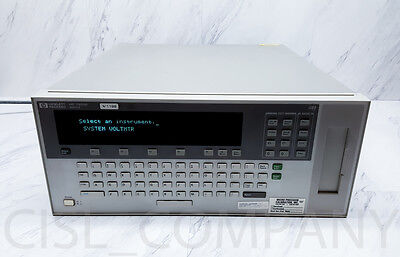 HP E1301A 75000 Series B VXI Mainframe w/ E1326B Multimeter+Multimeter Adapter