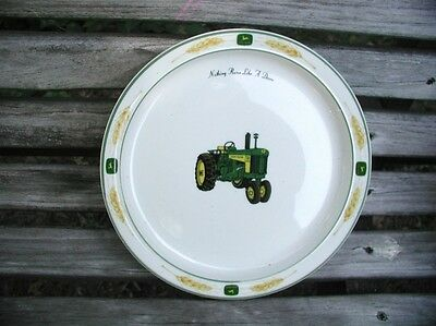 """John Deere Gibson Dishes  Lunch Plate  8 1/4"""""""