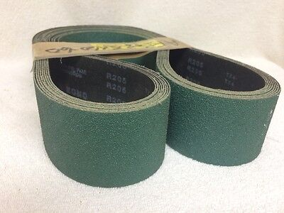 2.5 X 60 60G Zirc Belts - R205 - New - Lot of 8 - CLEARANCE! You get ALL 8!