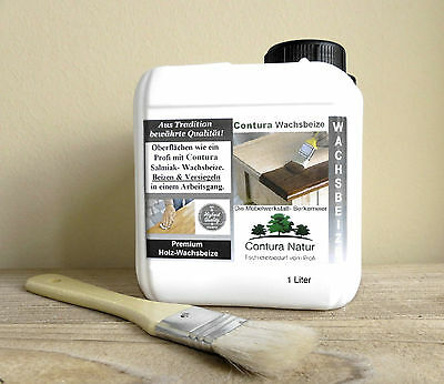 XL 2,5 Liter Wood Stain & Wax Furniture color protection