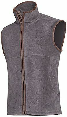 Baleno - Men's Harvey Gilet sans manches en polaire [Gris - Gris] [grand] NEUF