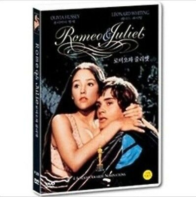 Romeo and Juliet (1968) DVD (New,Sealed) - Olivia Hussey