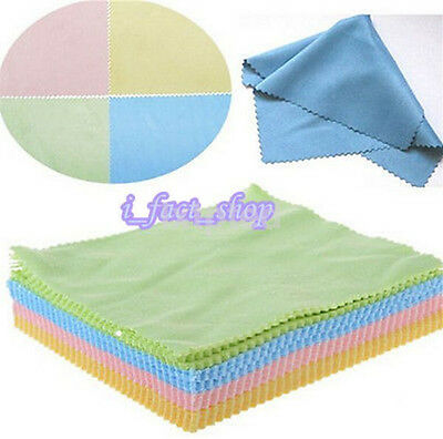 10x Microfiber Cleaner Phone Screen Camera Lens Glasses Cleaning Cloths Wipe~