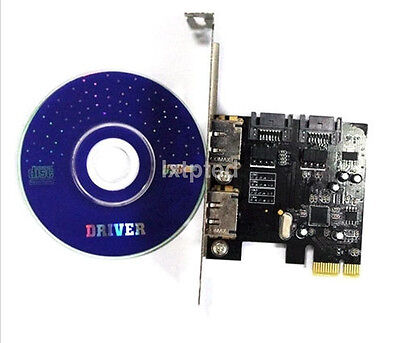 PCI-E To SATA3 PCI E SATA3.0 6Gb/s the SSD Asmedia Chip Expansion Card ASM1061~
