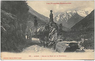 09-Auzat-Voiture A Cheval-N°R2040-F/0115