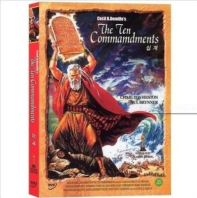 THE BIBLE COLLECTION # The Ten Commandments (1956) DVD (New,Sealed)