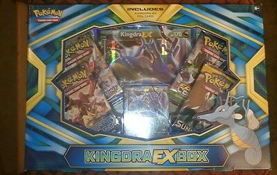 Pokemon TCG. Kingdra EX Box. Uk Seller.