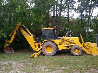 John Deere 710C Backhoe 4x4 Extendahoe 6500 HOURS  Excellent condition!