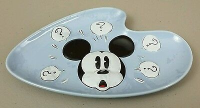 Disney Mickey Mouse Questions ? Ceramic Nut Candy Dish
