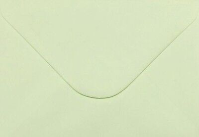 20 x C6/A6 ENVELOPES LIGHT GREEN Great for your card making / Invites free P&P