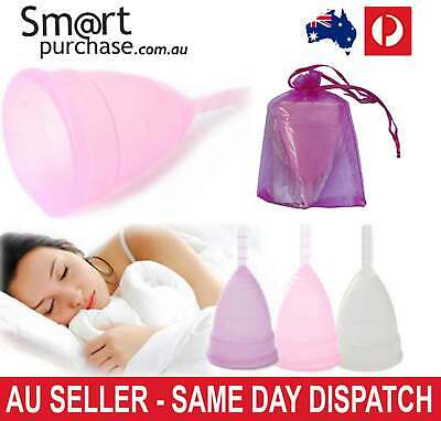Soft Reusable Viva Diva Cup Silicone Menstrual Moon Cup Big And Small Sizes OZ