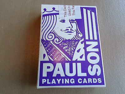 Vintage PAULSON-LAS VEGAS Playing Cards