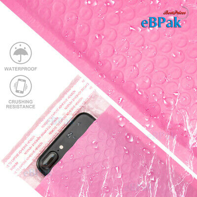 Bubble Mailer #01 - Pink Colour Vivid- 160x230mm  Padded Bag Envelope 50 200 500