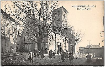 47-Monsempron-Place De L Eglise-N°R2043-E/0345
