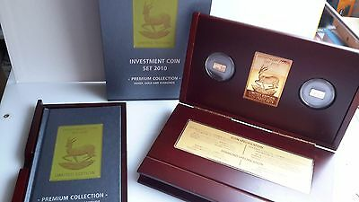 Investment Coin Set 2010  Limited Edition