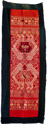 Wall hanging, cotton, Tai people, Sipsongpanna, Yunnan, China