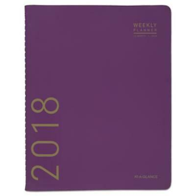 At-A-Glance 70250X59 Contemporary Monthly Planner, 9 1/2 X 11 1/8, Purple, 2018