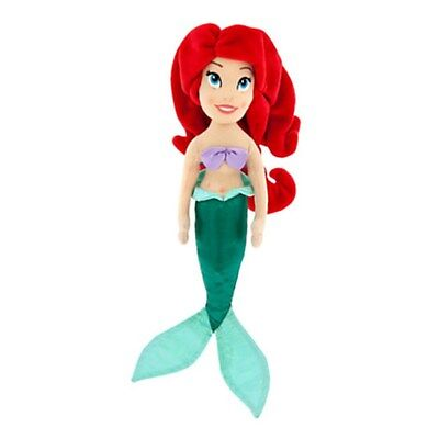 "NEW Disney Store Ariel the Little Mermaid Soft Mini Plush Doll Toy 12""  NWT"