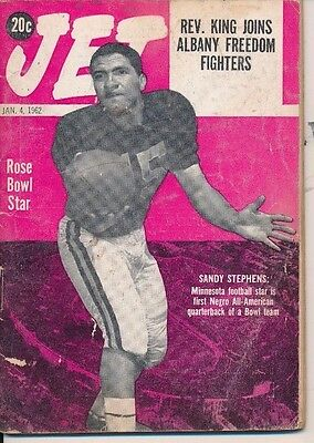Sandy Stephens 1st Black All-American QB Martin Luther King ALBANY FREEDOM Fight