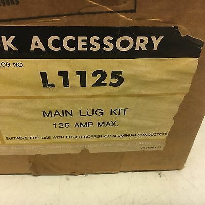 "Federal Pacific L1125 New In Box Lug Kit See Pictures Shelf ""c"""