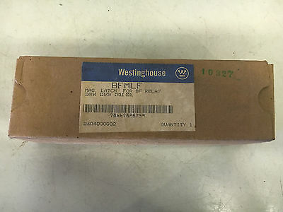 Westinghouse Bfmlf New In Box No Mounting Strap Mag Latch For Bf Relay 120V #a19