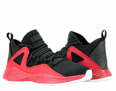 a993a696a4f00a Nike Air Jordan Formula 23 BG Black Gym Red-White Big Kids Shoes 881468