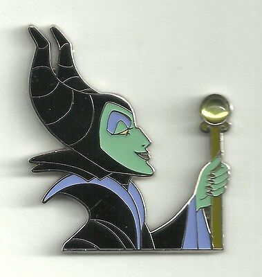 Disney pin Maleficent Holding Staff with Stone/Jewel