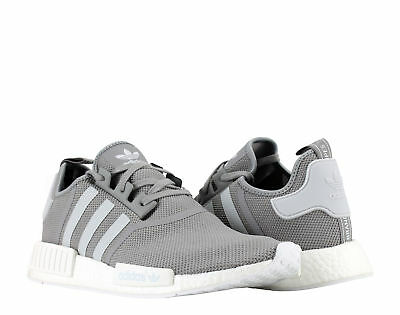 quality design 9c6ae 72efe ADIDAS NMD_R1 CHARCOAL Grey/Footwear White Men's Running Shoes S31503 Size  13.5