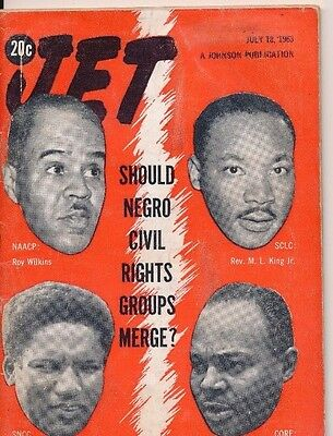 7/18/1963 MARTIN LUTHER KINg jr ROY WILKINS JAMES FORMAN James FARMER MERGE?