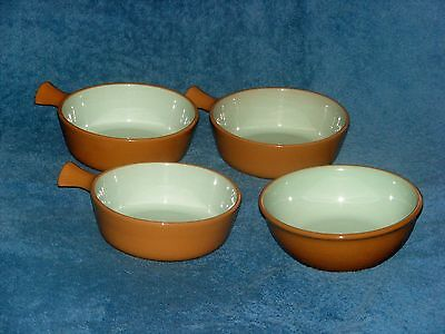Taylor Smith & Taylor Chateau Buffet Aqua Bowls Ramekins Lot Of 4