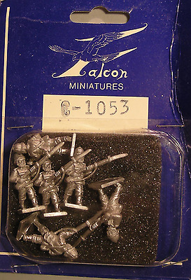 Falcon 25mm C-1053 - French Colonial - Marine Infantry - Advancing