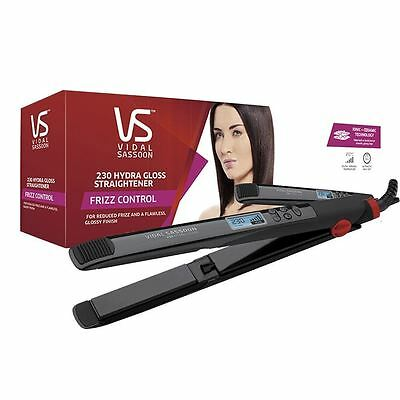 Vidal Sassoon VSST2981UK Hydra Gloss Frizz Control Hair Straightener - Black