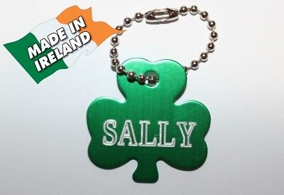 Shamrock, clover, Cats ID, personalized ID tag, tags cat, badge, pet disc, pets,