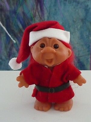 "Christmas Santa or Elf 5"" Red Hair adorable Dam Norfin Troll NEW"