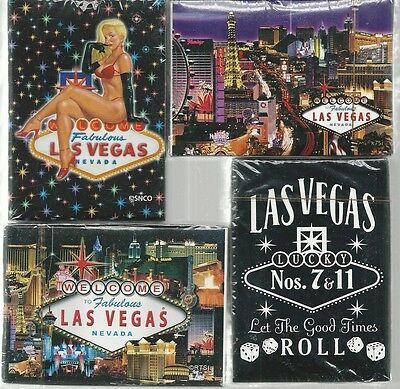 4 Las Vegas Sealed High Quality Playing Cards Brand New