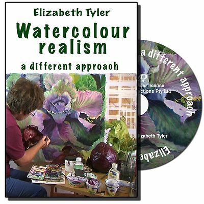 DVD - Watercolour Realism - a different approach with Elizabeth Tyler