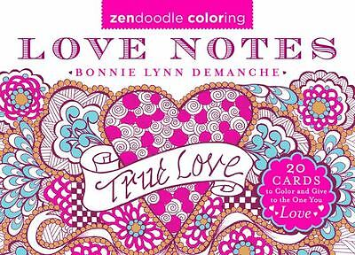 Love Notes (Zendoodle Coloring)