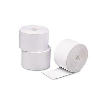 """PMC 09664 Single-Ply Thermal Cash Register/POS Rolls, 2-5/16"""" x 356 ft., White,"""